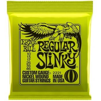 10-46  Ernie Ball Regular Slinky 2221