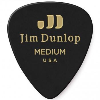 Dunlop Genuine Celluloid Black Medium