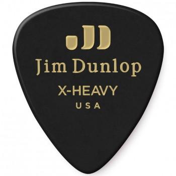 Dunlop Genuine Celluloid Black Extra Heavy
