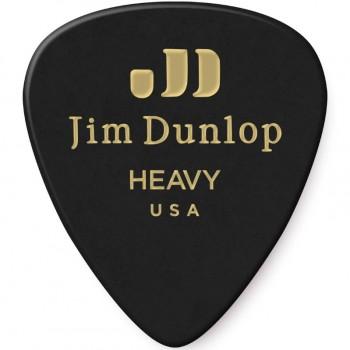 Dunlop Genuine Celluloid Black Heavy