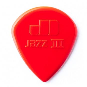 Dunlop 47P3N Nylon Jazz III Red 1.38mm