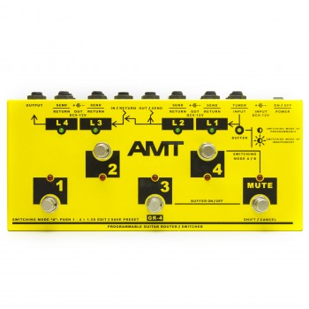AMT GR-4 Programmable Guitar Router Switcher