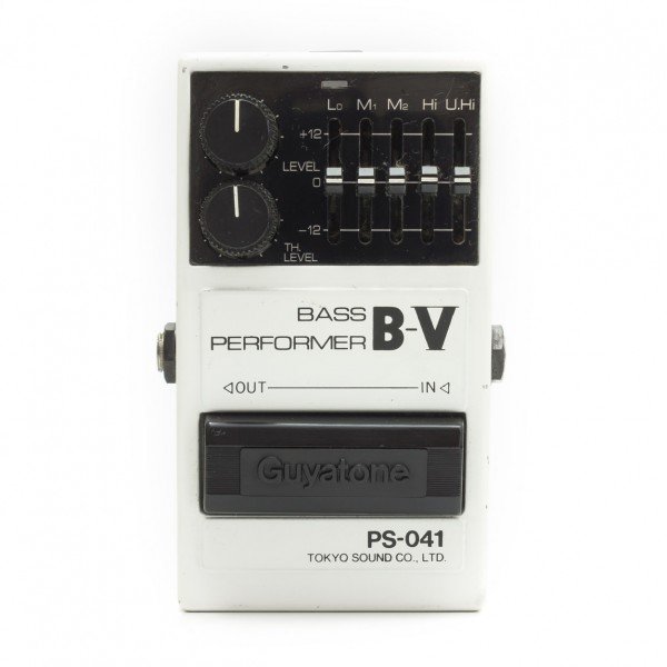 Guyatone PS-041 Bass Performer B-V Equalizer Limiter Japan 1980's