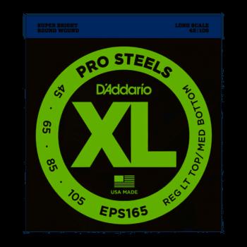 45-105 D'Addario EPS165 ProSteels Custom Light Long Scale